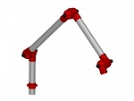 ALSIDENT - 50-3727-1-4 - Extraction arm DN 50, WL15473