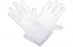 HB SCHUTZBEKLEIDUNG - HAMBURG-S - ESD gloves, white, S, WL31262