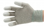 51-680-0200 - ESD Nylon gloves, grey, size S, WL28121