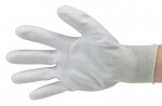 51-680-0600 - ESD Nylon gloves, grey, size S, WL28111