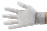 51-690-0200 - ESD Nylon gloves, white, size XL, WL26235
