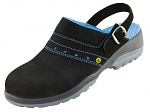 ATLAS - ESD GX 390 black - ESD safety clogs, WL30535