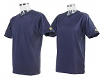 SAFEGUARD - SafeGuard - ESD-T-Shirt, V-Neck, XS, navy blue, WL37241