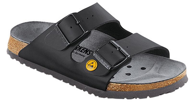 birkenstock arizona esd sandalen 40 schwarz normal leder. Black Bedroom Furniture Sets. Home Design Ideas