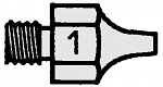 WELLER - T0051351199 - DS 111 Suction nozzle, outside 2.5 mm, inside 0.7 mm, WL16808