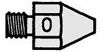 WELLER - T0051353299 - DS 110 HM suction nozzle, outside 1, 9 mm, inside 0.7 mm, WL16807