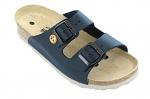 VITAFORM - 3570-21-37 - ESD-Sandalen 3570, 37, blau, Vollrindleder, Pantolette, WL17691