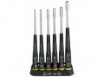 WIHA - 32279 - Screwdriver set, Precision ESD 277 ESD K6, SET 6 pcs, socket wrench with holder, WL34657