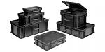 WEZ - 3204.390. - ESD-BLACKLINE-Koffer 300 x 200 x 69 mm, WL35846