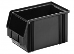 WEZ - 3520.200. - ESD-Sichtlagerkasten, schwarz 350 x 200 x 200, schwarz, WL35711