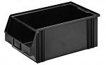 WEZ - 5030.200. - ESD visual storage bin, black 500 x 300 x 200, WL34812