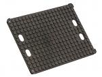 WEZ - 2535.000. - ESD print pallet holder 357x257x14 mm, WL35714