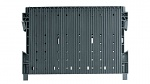 WEZ - 2534.900. - ESD double groove wall 300, black / series 180, 2-fold reinforced without floor stop, WL35745