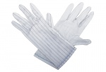 WARMBIER - 8745.0401.XS - ESD glove polyester, with PVC knobs, XS, WL27356