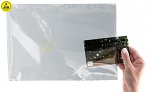 SAFEGUARD - SafeGuard ESD - ESD static shielding bag, 76 x 127 mm, film thickness: 50µm, WL32362