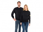 SAFEGUARD - SafeGuard ESD - ESD sweatshirt round neck, black 280g/m², XS, WL43772