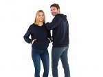 SAFEGUARD - SafeGuard ESD - ESD hooded sweatshirt, navy blue 280g/m², XS, WL43799
