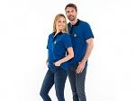 SAFEGUARD - Safeguard PRO PLUS - ESD polo shirt 210g/m² royal blue/black, XS, WL31934