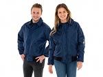 SAFEGUARD - SafeGuard ESD - ESD winter jacket navy blue, 130g/m², XS, WL44876