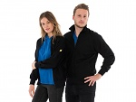 SAFEGUARD - SafeGuard ESD - ESD sweat jacket with zip, black 260g/m², XS, WL44540