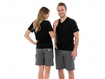 SAFEGUARD - SafeGuard ESD - ESD trousers short grey, 128 g/m², XS, WL44323