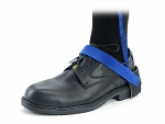 SAFEGUARD - SAFEGUARD ESD - ESD heel strap with velcro, blue/blue, WL43114