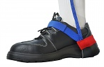 SAFEGUARD - SAFEGUARD ESD - ESD heel strap with velcro, blue/red, WL31819
