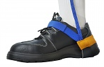SAFEGUARD - SAFEGUARD ESD - ESD heel strap with velcro, blue/yellow, WL42060