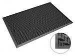 SAFEGUARD - Safeguard ESD - ESD floor mat 650 x 950 x 14 mm, studs hemisphere, WL43047