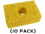 "THERMALTRONICS - SPG-10 - Yellow, Sponge, (3.2"" X 2.1"") (10 PACK), WL37519"