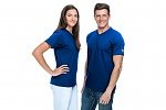 SAFEGUARD - SafeGuard PRO - ESD T-Shirt V-neck royal blue, 150g/m², XS, WL43935