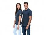 SAFEGUARD - SafeGuard PRO - ESD Poloshirt dark grey 150g/m², XS, WL39656