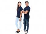 SAFEGUARD - SafeGuard PRO - ESD polo shirt navy blue 150g/m², XS, WL37236