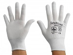 SAFEGUARD - SG-white-JNW-100-S - ESD glove white, without coating, S, WL36567