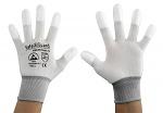 SAFEGUARD - SG-white-JNW-202-L - ESD glove white/grey, coated fingertips, L, WL37430