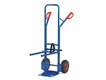 FETRA - B1335L - Chair cart, 300 kg, shovel 250 x 320 mm, support frame can be hooked in, WL39867