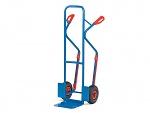 FETRA - B1330L - Tubular steel trucks, pneumatic wheels, 300 kg, bucket: 250 x 320 mm, WL39861