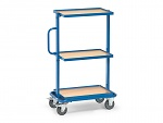 FETRA - 32901 - Side trolley, 3 shelves, 200 kg, 605 x 405 mm, WL39840