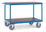 FETRA - 12402 - Table trolley, 2 shelves, 1200 kg, 1000 x 700 mm, WL39842