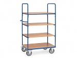 FETRA - 8301 - Shelf trolley, 4 shelves, 1800 mm height, 600 kg, 1000 x 600 mm, WL39829