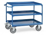 FETRA - 4830 - Table trolley, 3 tubs, 400 kg, 850 x 500 mm, WL39826