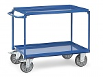 FETRA - 4820 - Table trolley, 2 tubs, 400 kg, 850 x 500 mm, WL39824