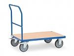 FETRA - 2500 - Push handle trolley, 1 shelf, 500 kg, 850 x 500 mm, WL39812