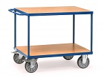 FETRA - 2400 - Table trolley heavy, 2 shelves, 500 kg, 850 x 500 mm, WL39816