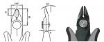 PIERGIACOMI - ITR 58 D - ESD side cutter, WL42469
