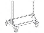 KARL - 69.607.70 - Shelf on base frame, 1055 x 400 mm, CAR width 1220 mm, WL36671
