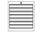 KARL - 28.105.70 - ESD Drawer block F1 Sintro, 7x1HE, 475 x 540 x 606 mm, WL33790