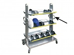 SAFEGUARD - 8100055 - Side support for SMD coil stand Chariotte, with handle, WL35834