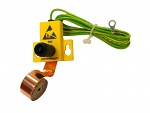 SAFEGUARD - 7805.834 - ESD Earthing set with copper band, L = 1 m, WL30969