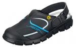 ABEBA - 37331-35 - ESD Clogs black/blue, Dynamic print, size 35, WL38985